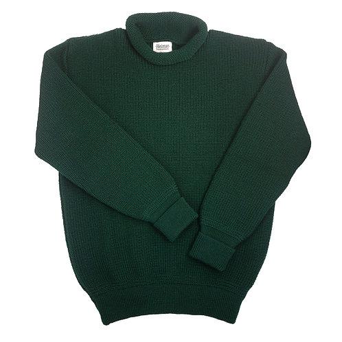 Mini Roll Neck Sweater - Tannen Grün