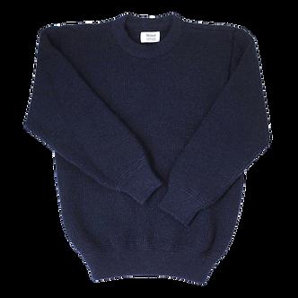 Crew Neck Sweater - Ink (Navy)
