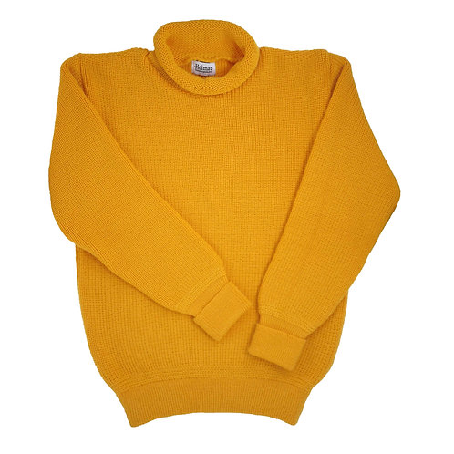 Mini Roll Neck Sweater - Golden