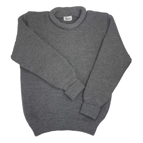 Mini Roll Neck Sweater - Battleship Grey