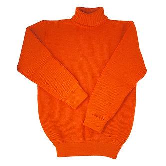U Boat Roll Neck - Rescue Orange