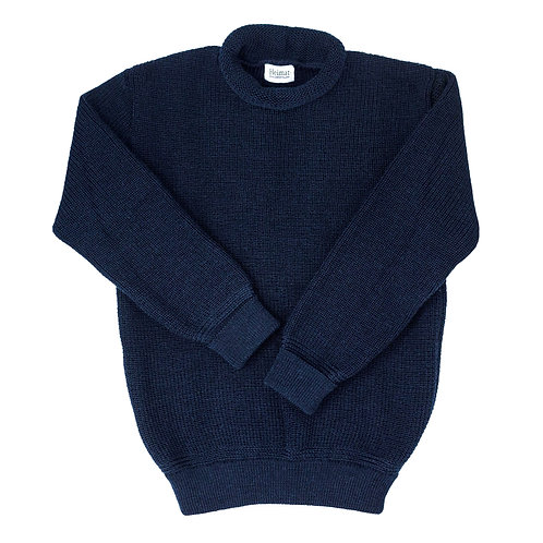 Mini Roll Neck Sweater - Ink (Navy)