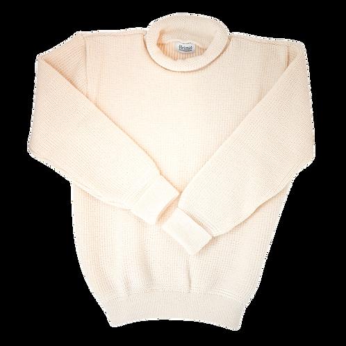 Mini Roll Neck Sweater - Seashell