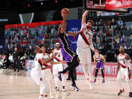 致傳奇的禮物—Portland Trail Blazers & Los Angeles Lakers