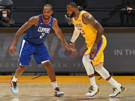 不相上下—Los Angeles Lakers & Los Angeles Clippers