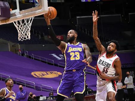 傷兵滿營—Los Angeles Lakers & Portland Trailblazers
