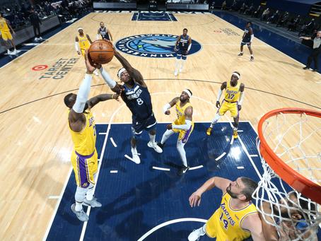 天淵之別—Minnesota Timberwolves & Los Angeles Lakers