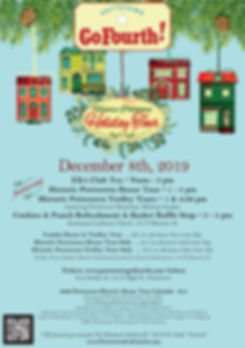 2019 Historic Pottstown Holiday Tour Pos