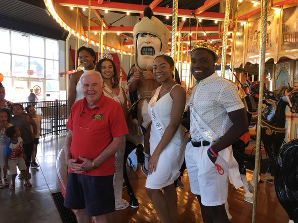 2018 Royal Court at The Carousel at Pottstown with George Wausnauck