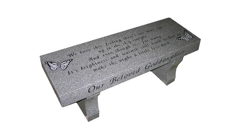 Gravestone Bench
