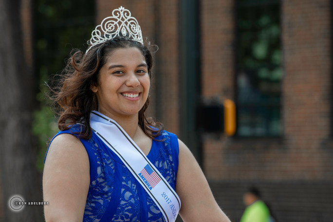 2017 4th of July Queen, Angelina Olvera