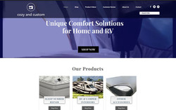 Cozy and Custom Website