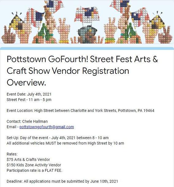 2021 Arts and Craft Vendor Application.J