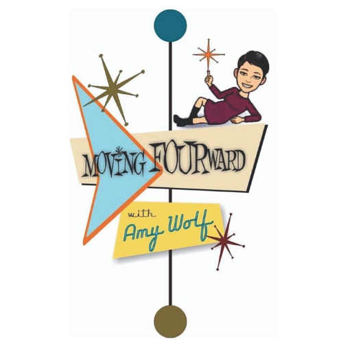 Moving FOURward with Amy Wolf logo