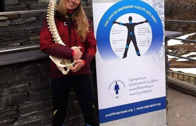 Vi ønsker vårt nye bedriftsmedlem naprapat Maria Grønn-Nielsen hjertelig velkommen!
