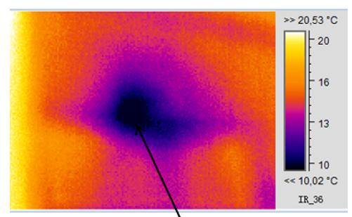 Image thermique extracteur de ventilatio