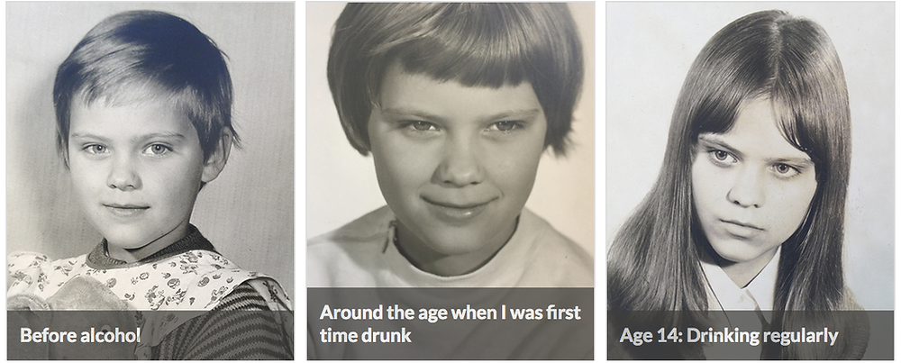 from sober to becoming a regular drinker at 14