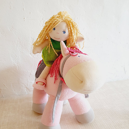 Doll with Horse