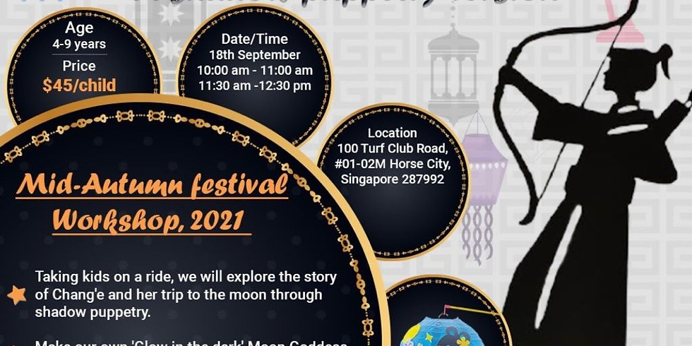 Shadow Puppetry -  11.30am: Mid-autumn festival workshop