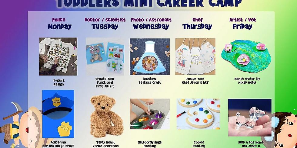 11th - 15th October: Mini Career Arts Camp (3-5 years)