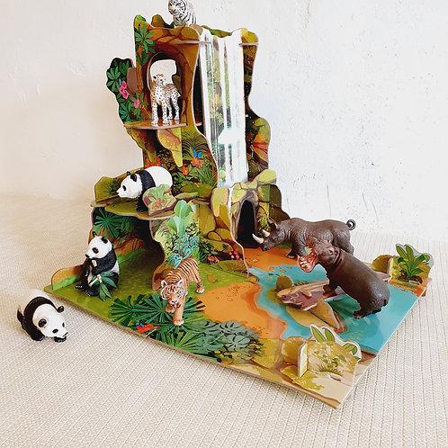 Animals in Rainforest