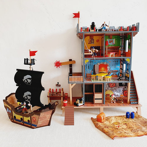 Pirate Ship and Castle