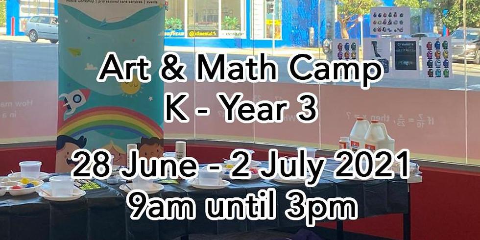 Art & Math Camp (K- Year 3)