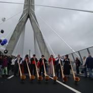 Einweihung Poyabrücke 2014