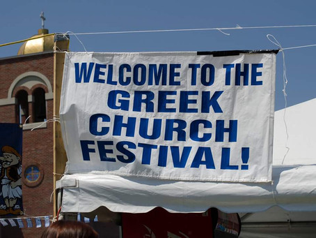Be Greek For a Day at PA Greek Fest