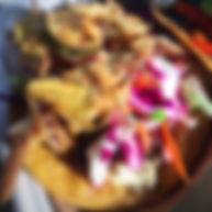 Falacos Naners & Nuts vegan gluten free food truck