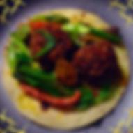 Bangcock Falacos vegan gluten food truck