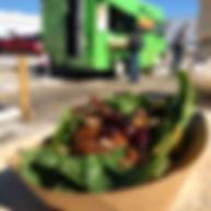 Dr. Thumbs Falacos vegan gluten free food truck vegan gluten free taco balls