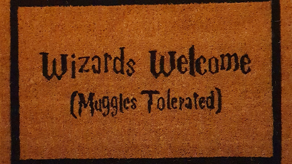 Wizards are welcome