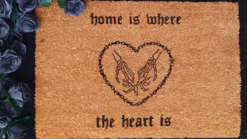 Till death do us part, home heart