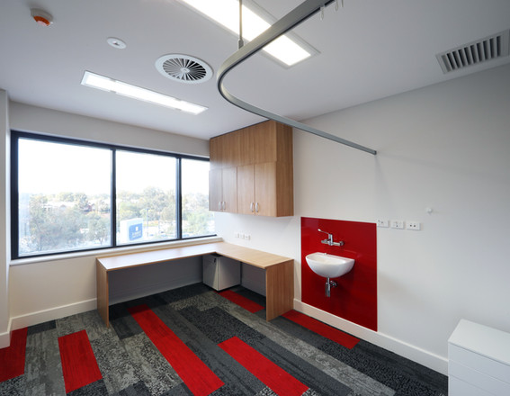 Treatment Room Workstation and Basin
