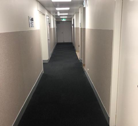 Hallway Flooring and Painting
