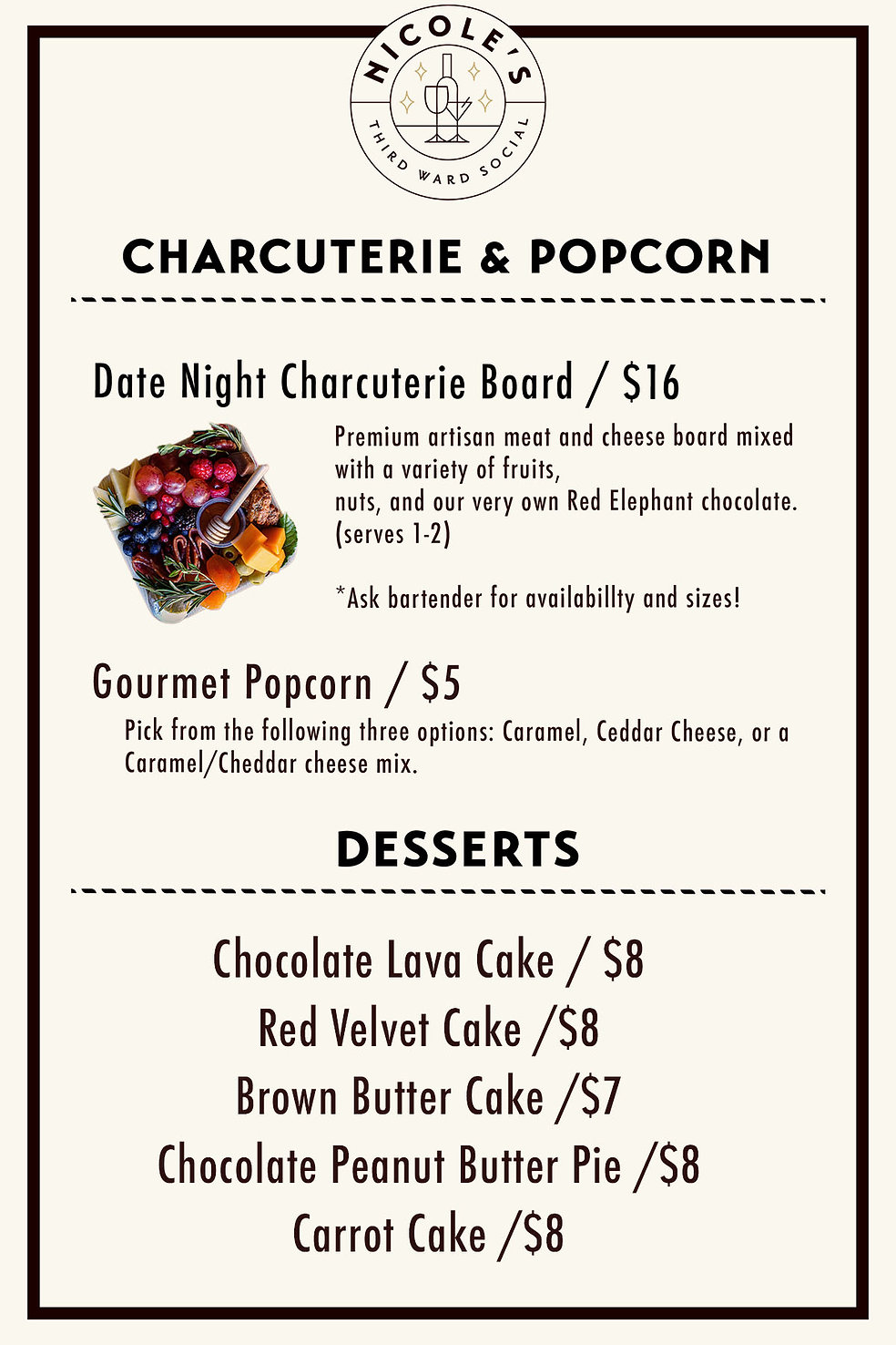 Charcuterie, popcorn, desserts Sept 11.jpg