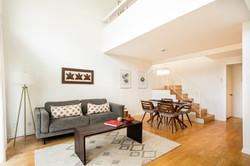 Los Angeles Condo Living Room