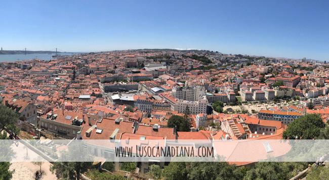Visita ao Castelo de São Jorge | Turista na nossa cidade (vídeo)