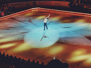 Rock the Rink - campeões olímpicos arrasam na pista de patinagem