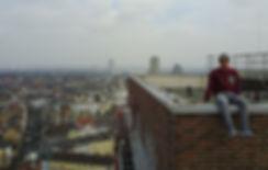 Daniel Faßbender beim Roofing