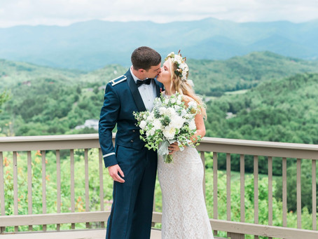 Julianne and Robbie Mountain Wedding