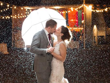 Kaytlin & Tre  -  Circus Themed           Farm Wedding