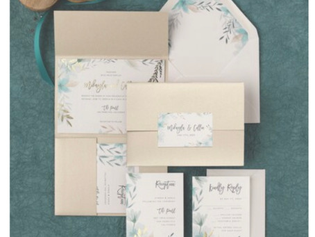Spring Wedding Invitation Inspiration