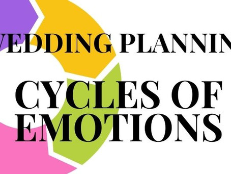 Wedding Planning Cycle of Emotions