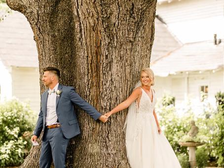 Mollie & Ben's Rustic Chic Wedding - Willstella Farm