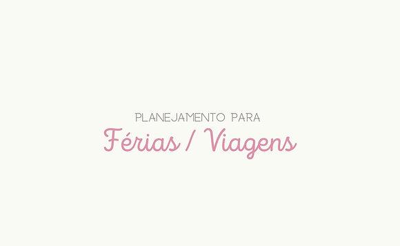 Planner Férias / Viagens [download pdf.]