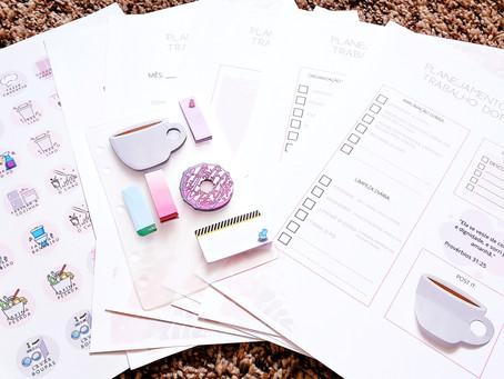 Planner para organizar o trabalho doméstico