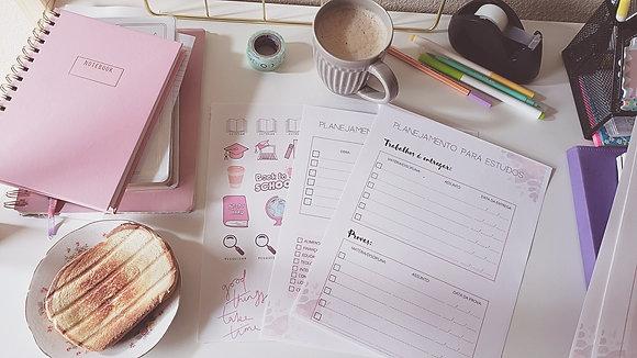 Planner para Aulas Online