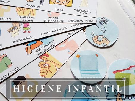 Ensinado seu filho fazer a Higiene Pessoal
